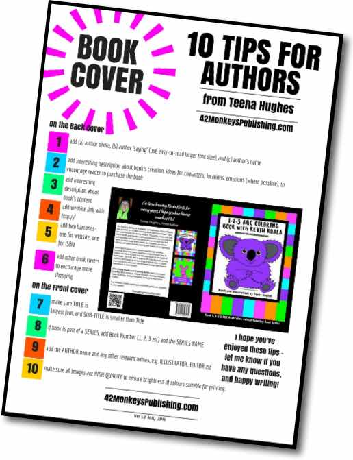 Book Cover Typography Tips : Book cover tips for authors monkeyspublishing
